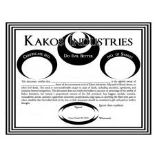 Official Shareholder Certificate
